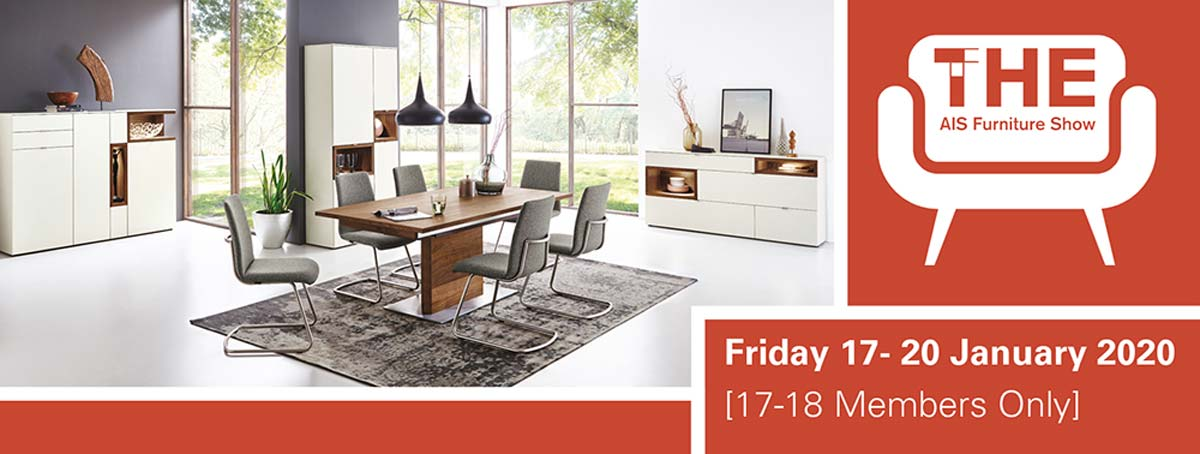 AIS Furniture email header